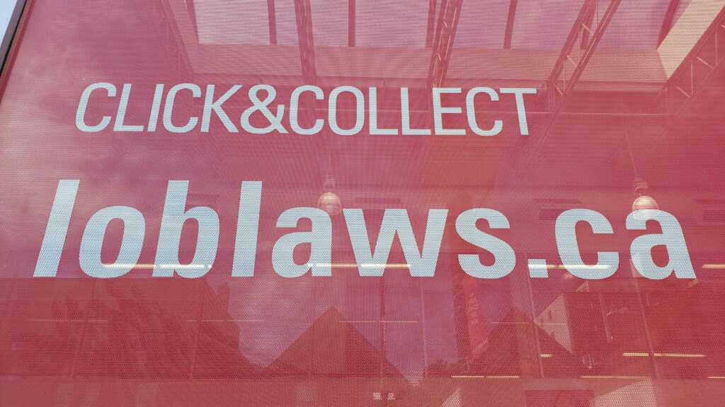 Picture of Loblaw.ca click & collect banner